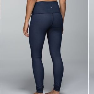 Lululemon Wunder Under Pant (Roll Down) Inkwell
